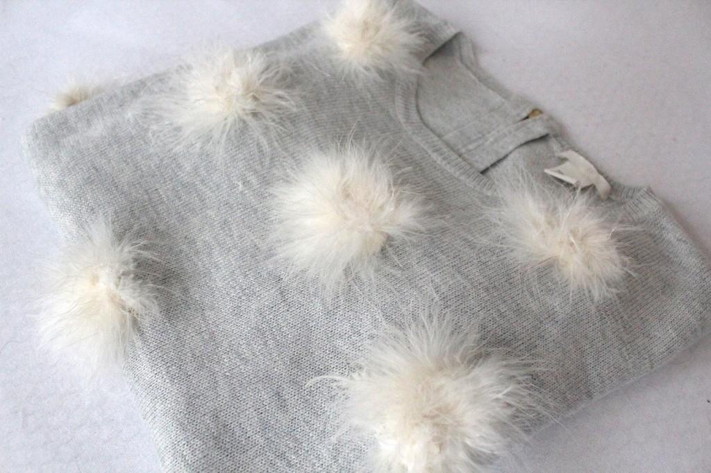 Pompom Pullover Selber Machen