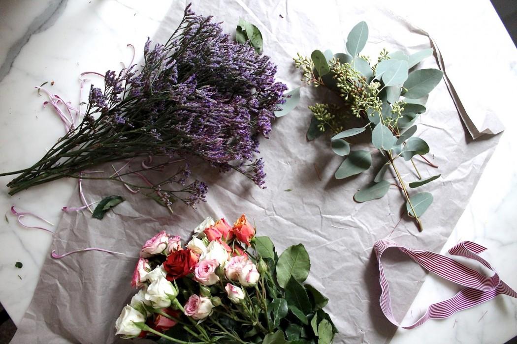 Diy Blumenstrauß Binden