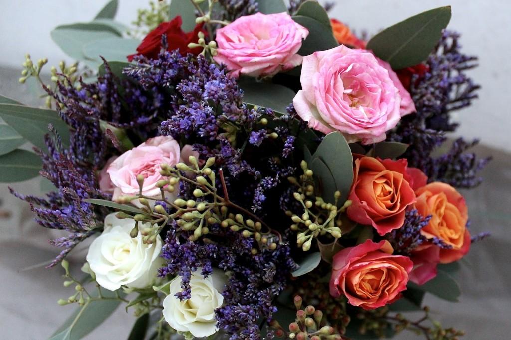 Blumenstrauß selber binden