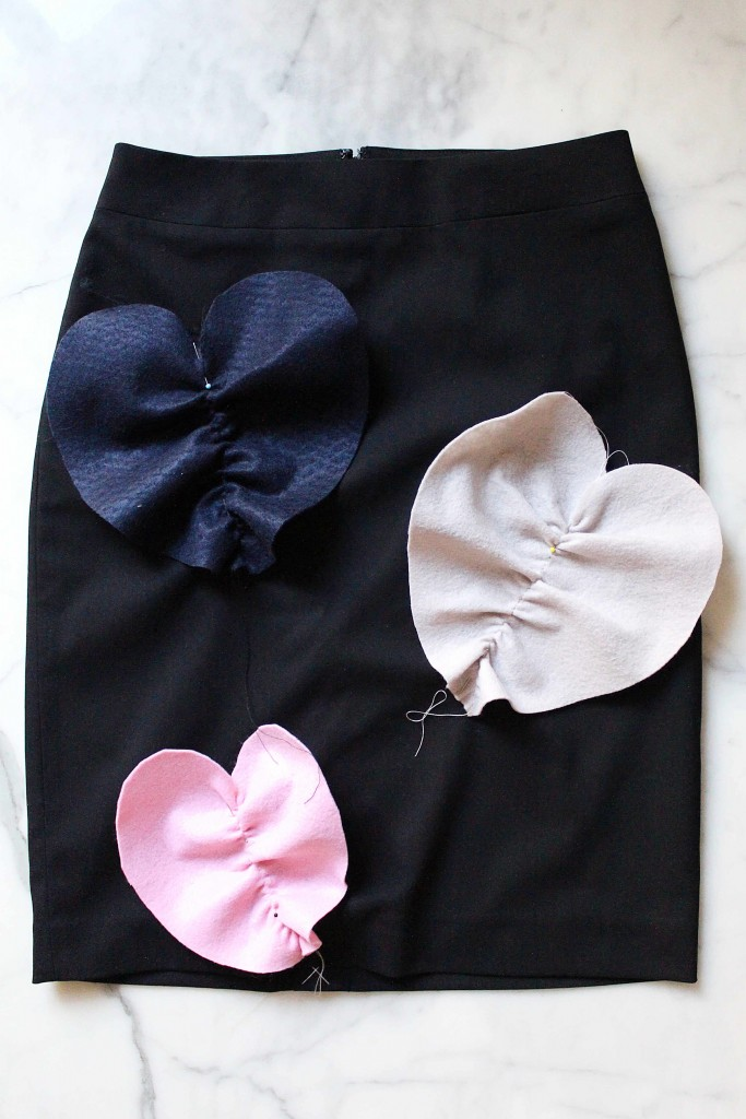 DIY tutorial MSGM skirt