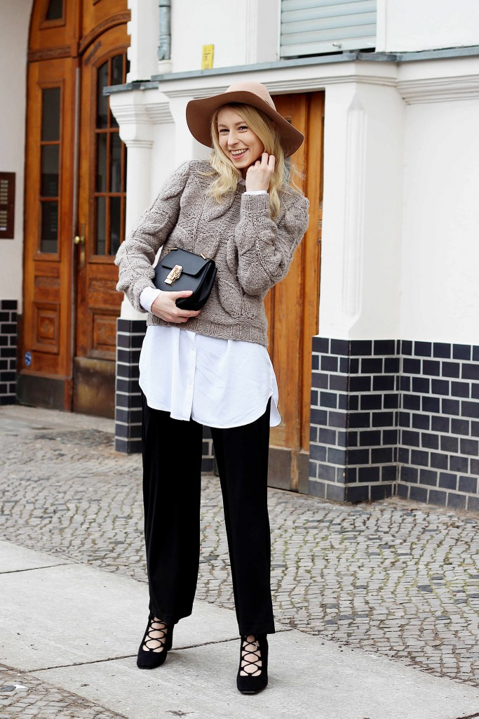 flared pants outfit