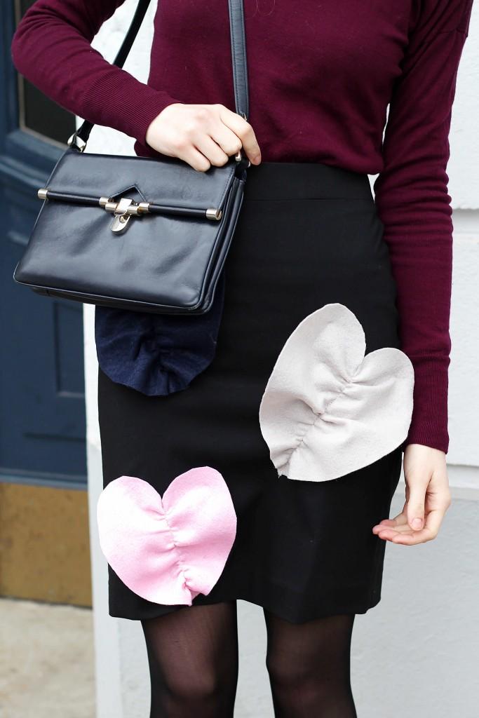 Vintage bag outfit