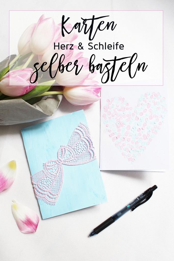 Karten basteln - DIY Anleitung