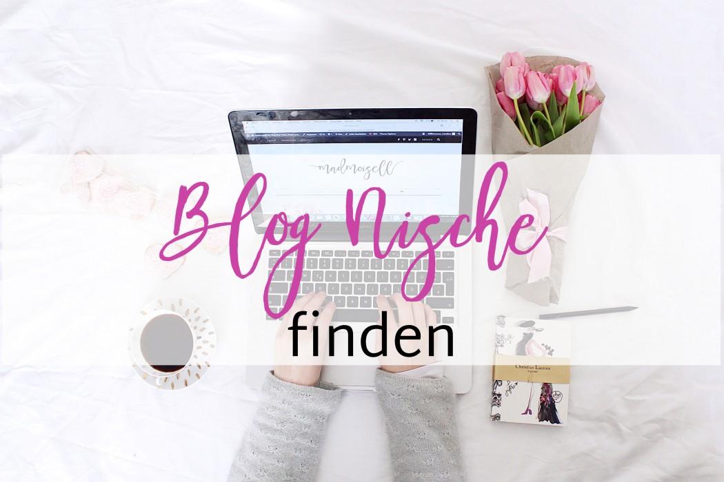 Blog Nische finden