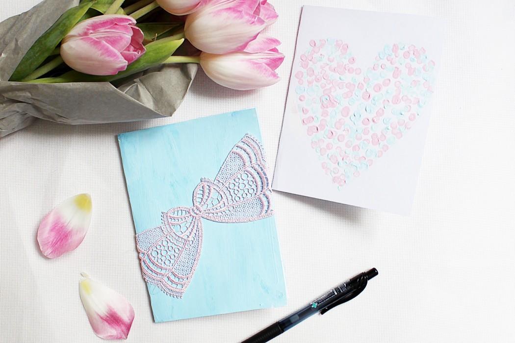 Atemberaubend DIY Karten Selber Basteln - DIY Anleitung @HB_39