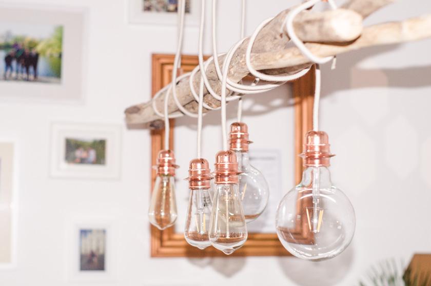 DIY Kupferlampe