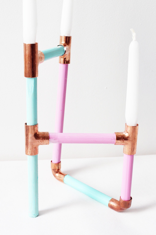 Kerzenhalter-Basteln