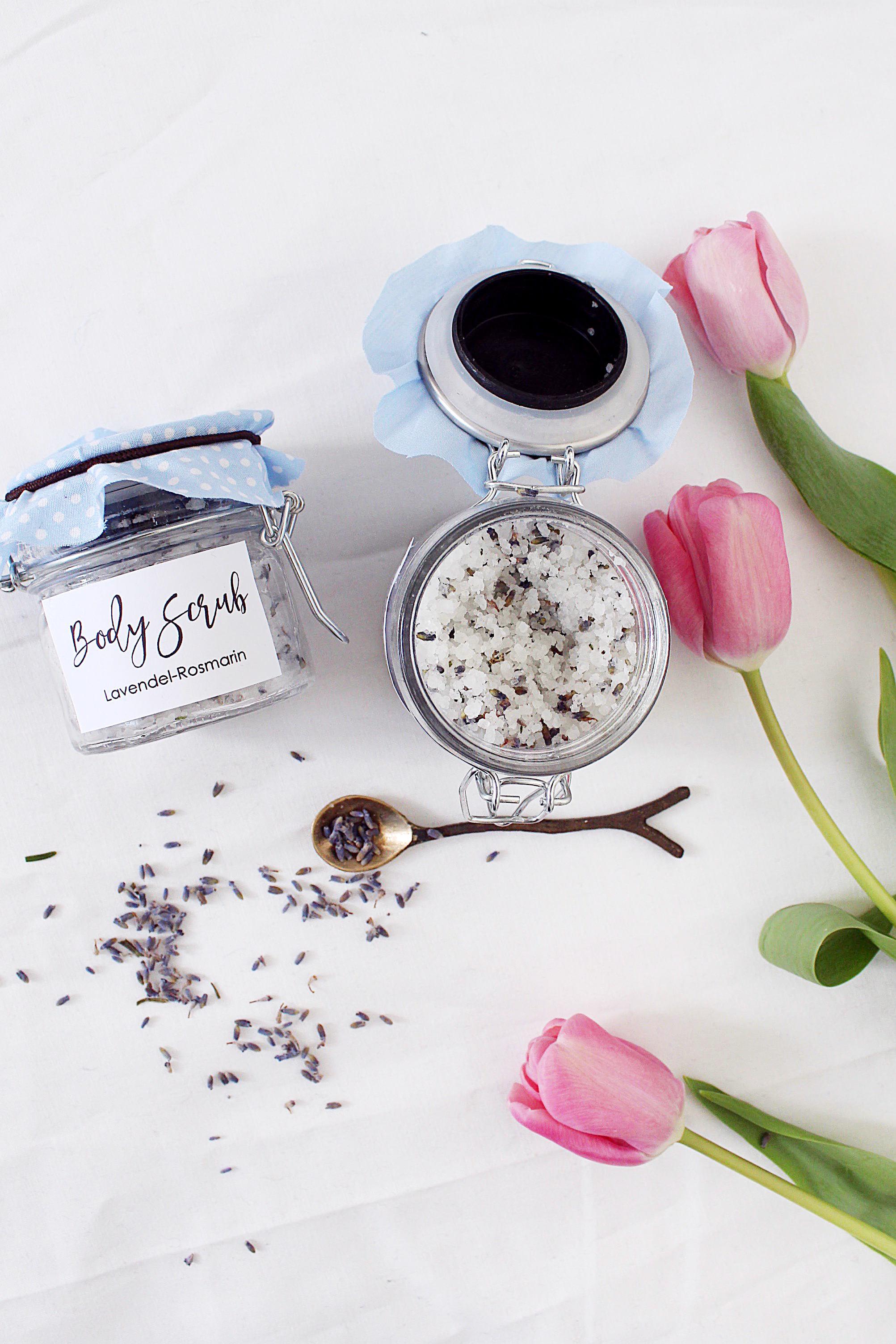 DIY Geschenke Body Scrub Selbermachen