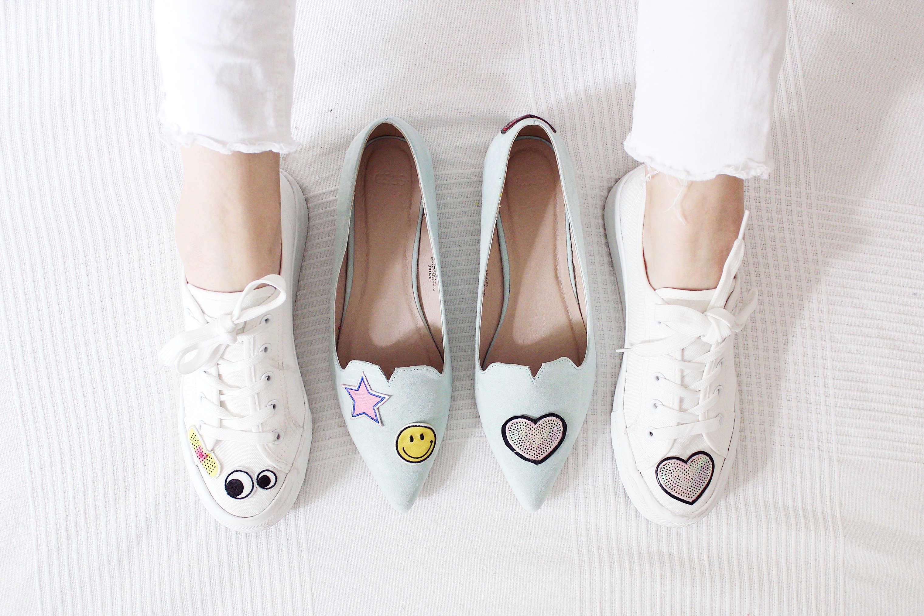 Schuhe-verzieren