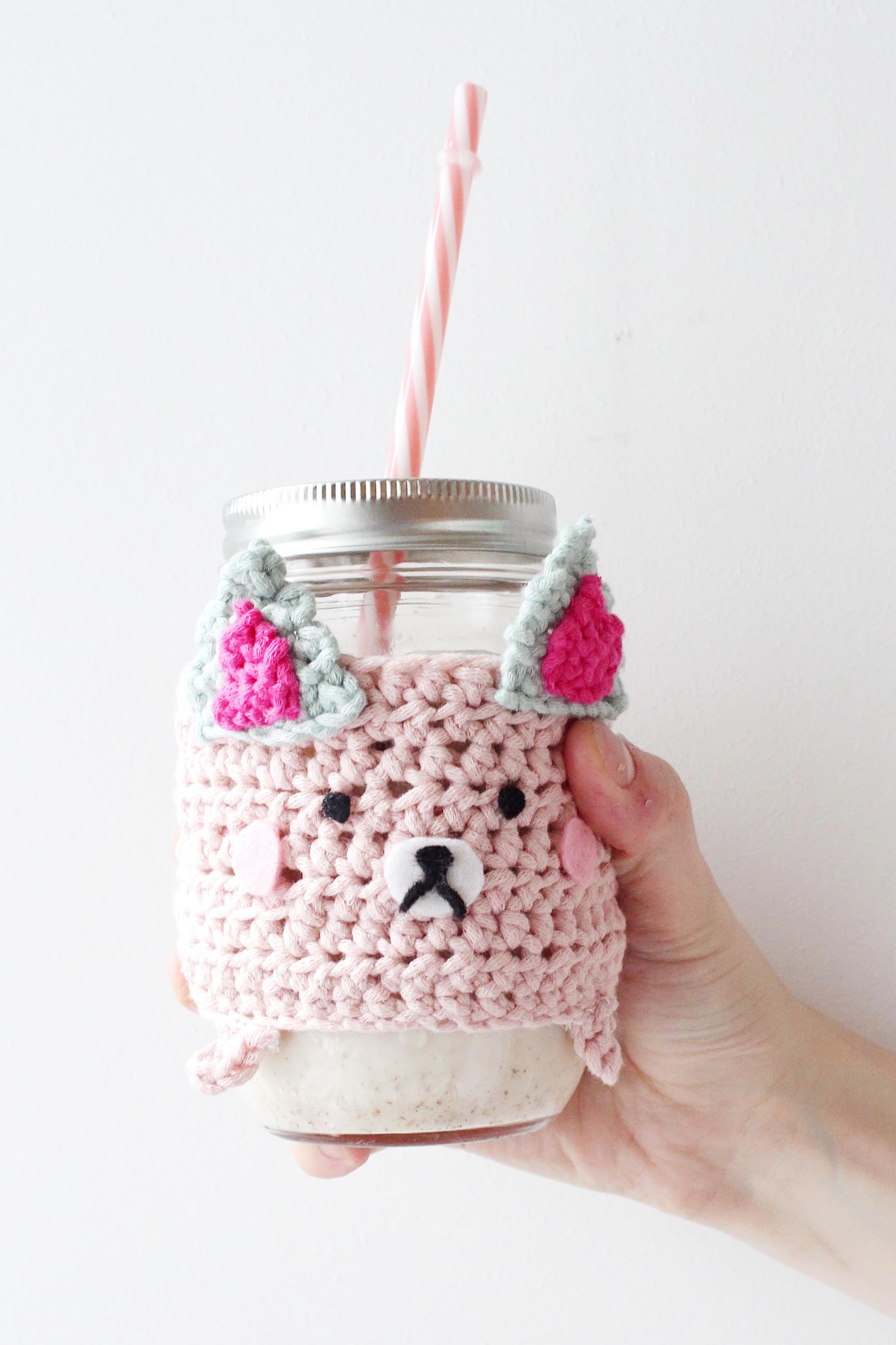 Tassenwärmer häkeln-DIY Blog