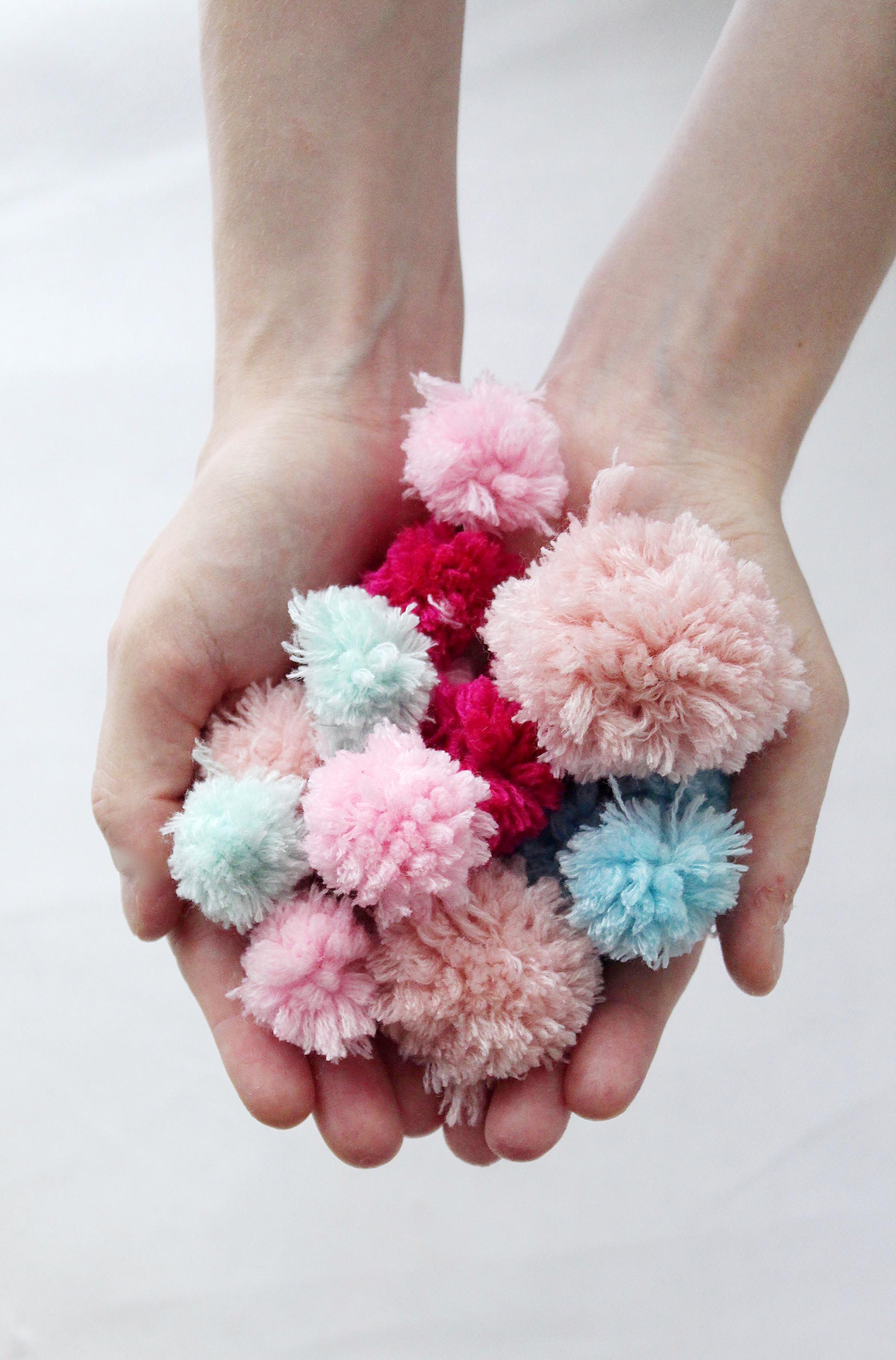 DIY Anleitung Pompoms machen