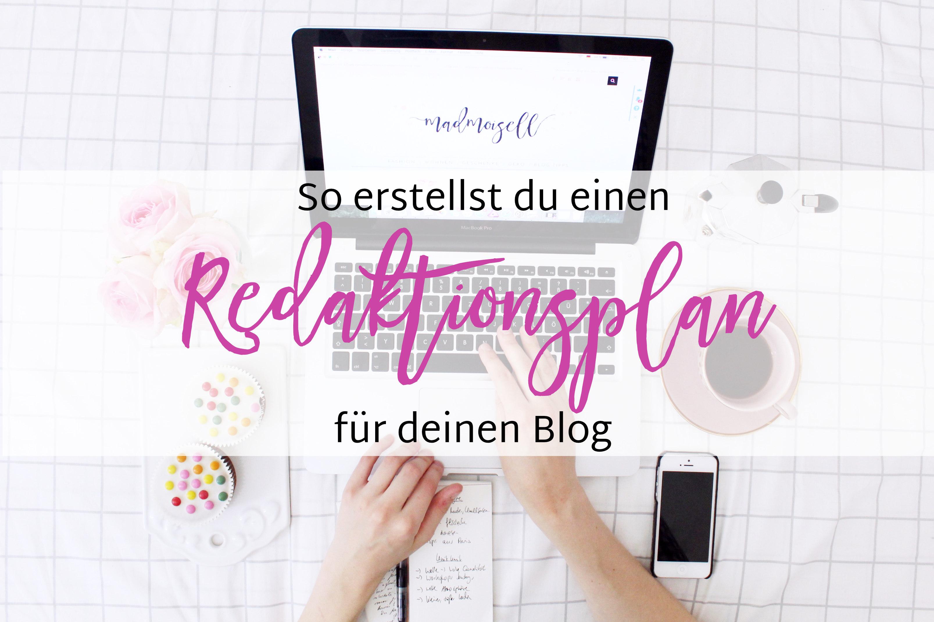 Wie Du einen Redaktionsplan für deinen Blog erstellst + Beispiel ...
