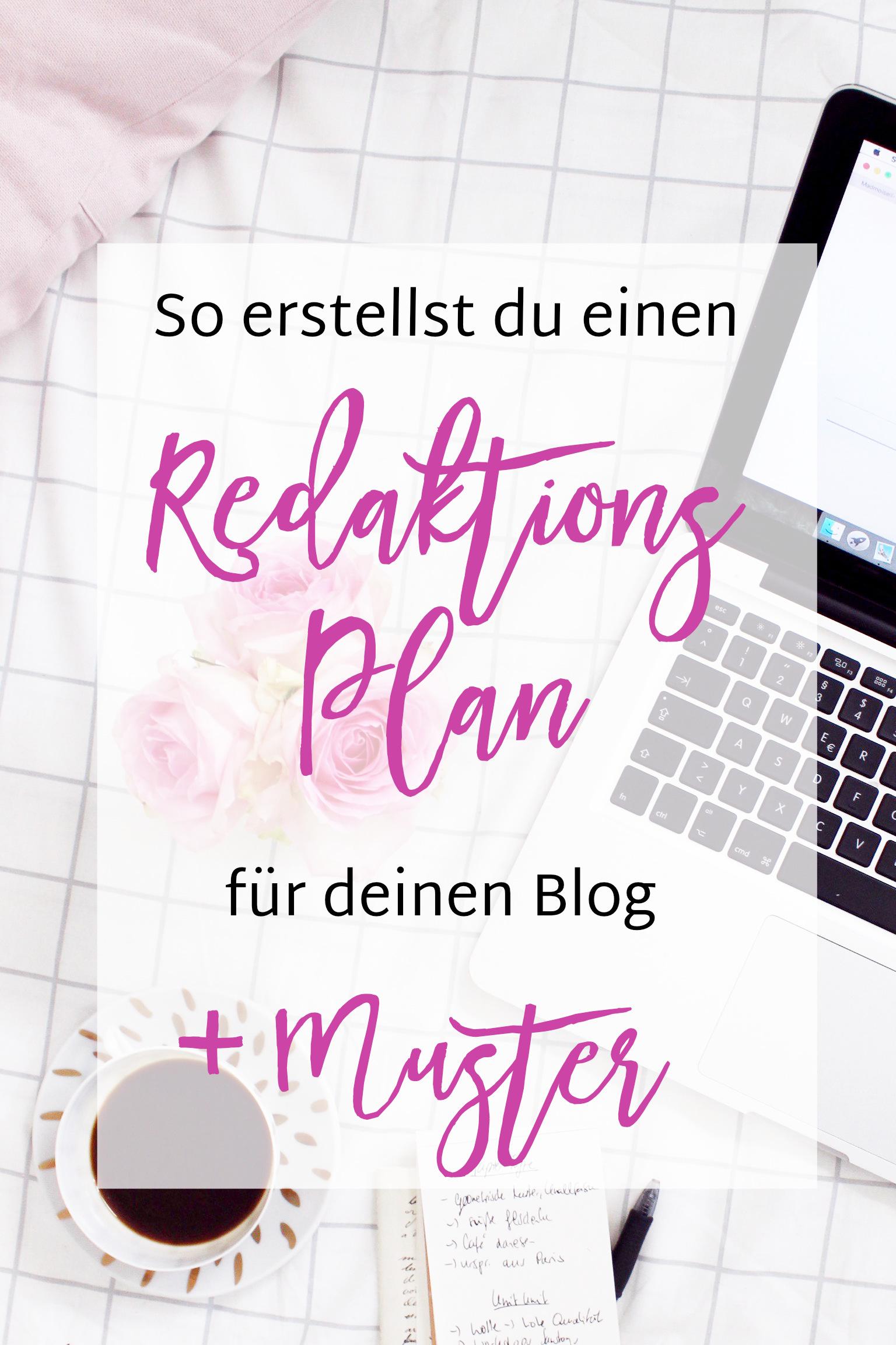 Redaktionsplan fuer Blog erstellen
