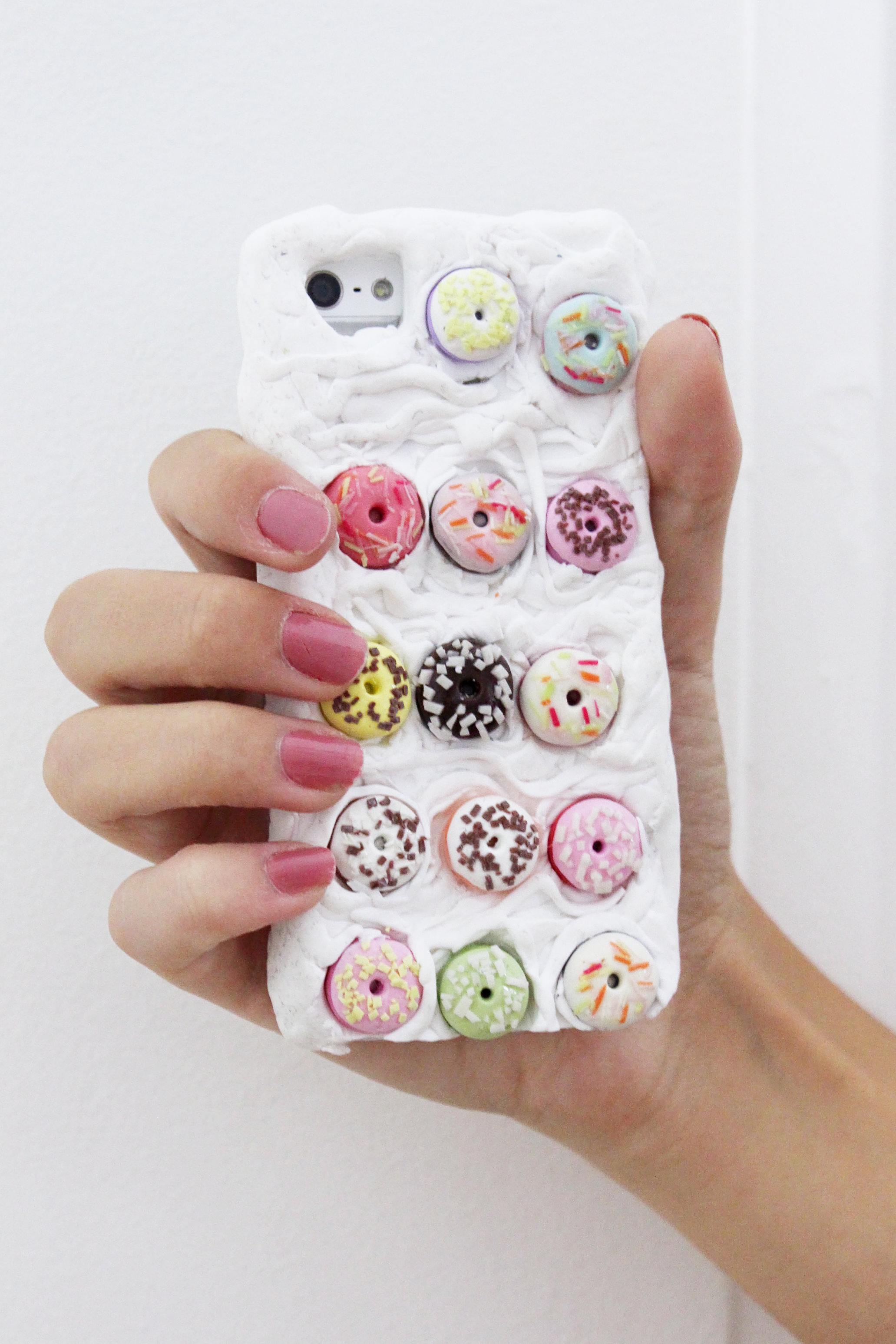 DIY-iphone-case-hülle-fimo-donuts-diyblog