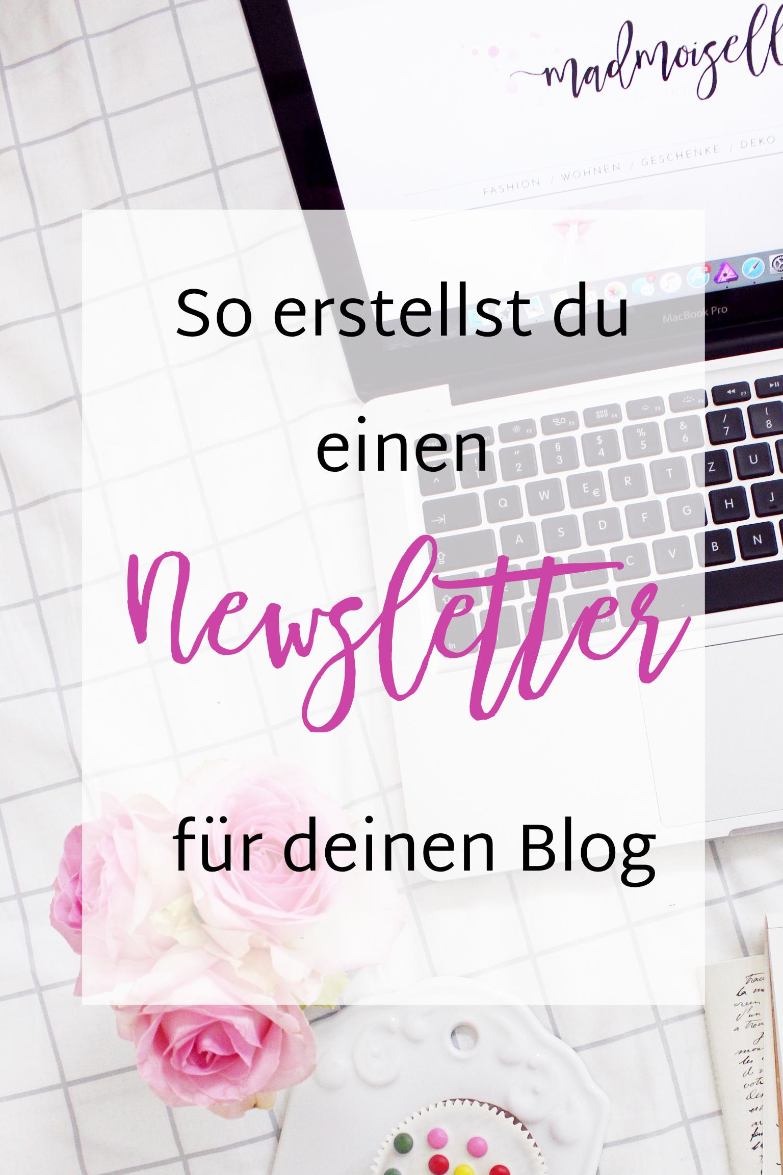 Newsletter Marketing- So erstellst du einen Newsletter fuer deinen Blog