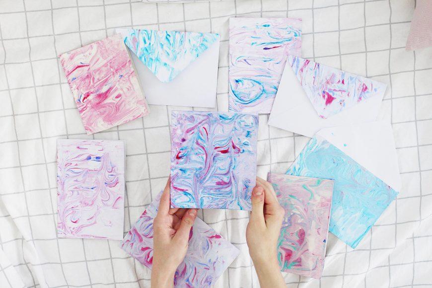 Papier-Marmorieren-DIY-Blog