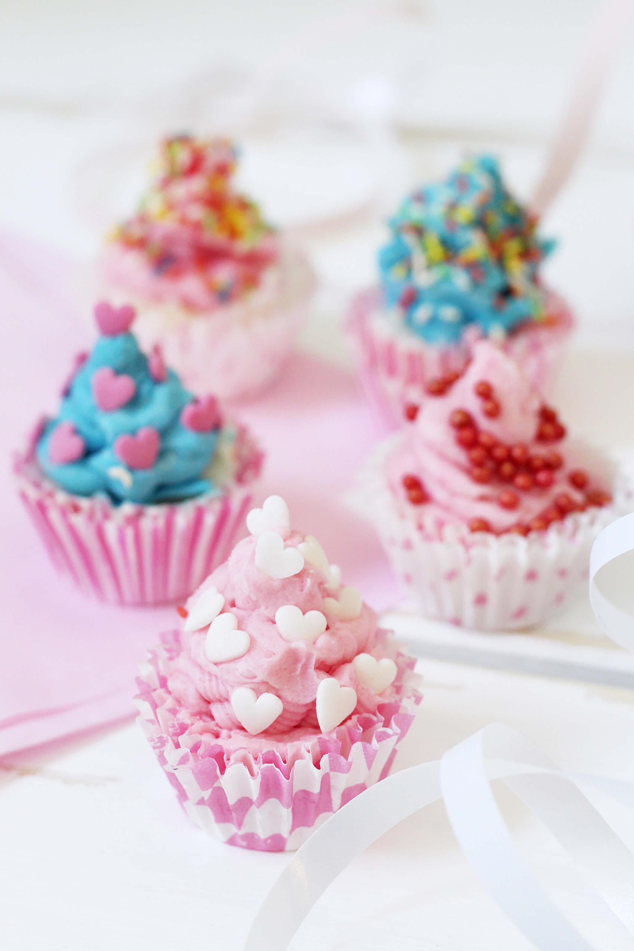 Badebomben In Cupcake Form Selber Machen Kreative Geschenkidee