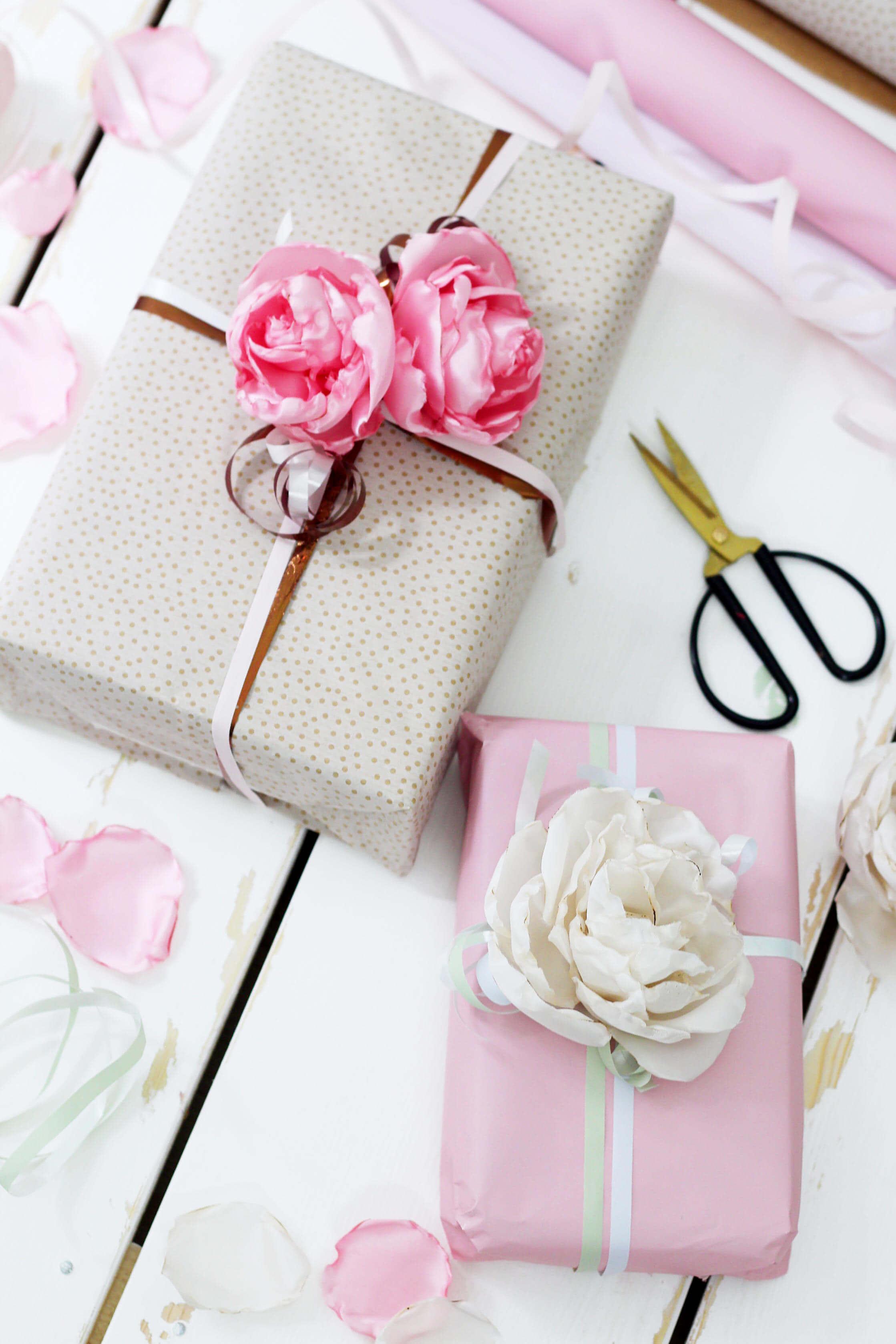 stoffblumen selber machen - kreative diy anleitung, Innenarchitektur ideen