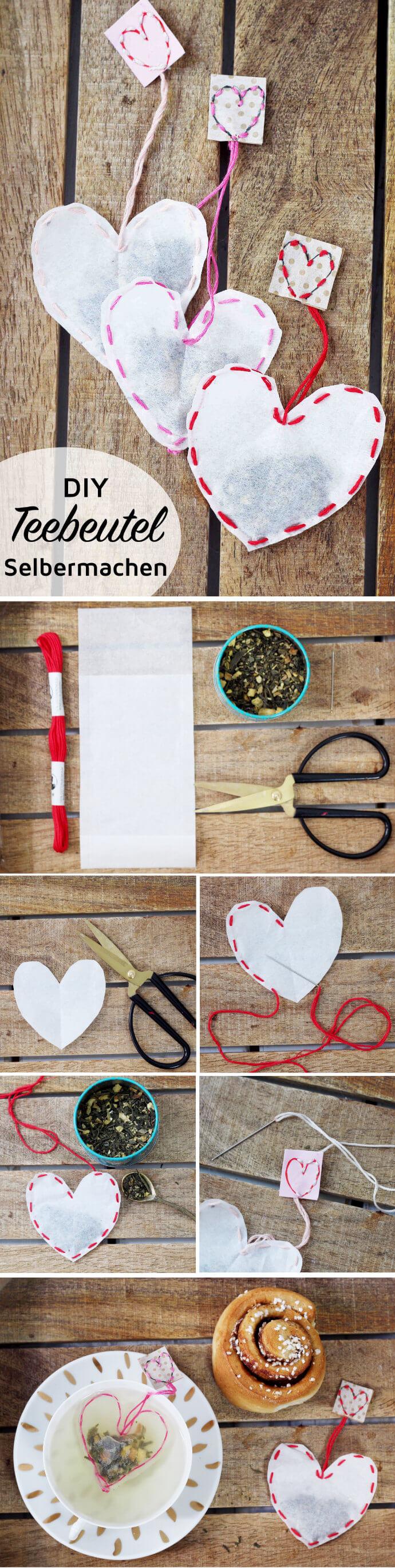 Teebeutel selber machen: Kreative DIY Geschenkidee