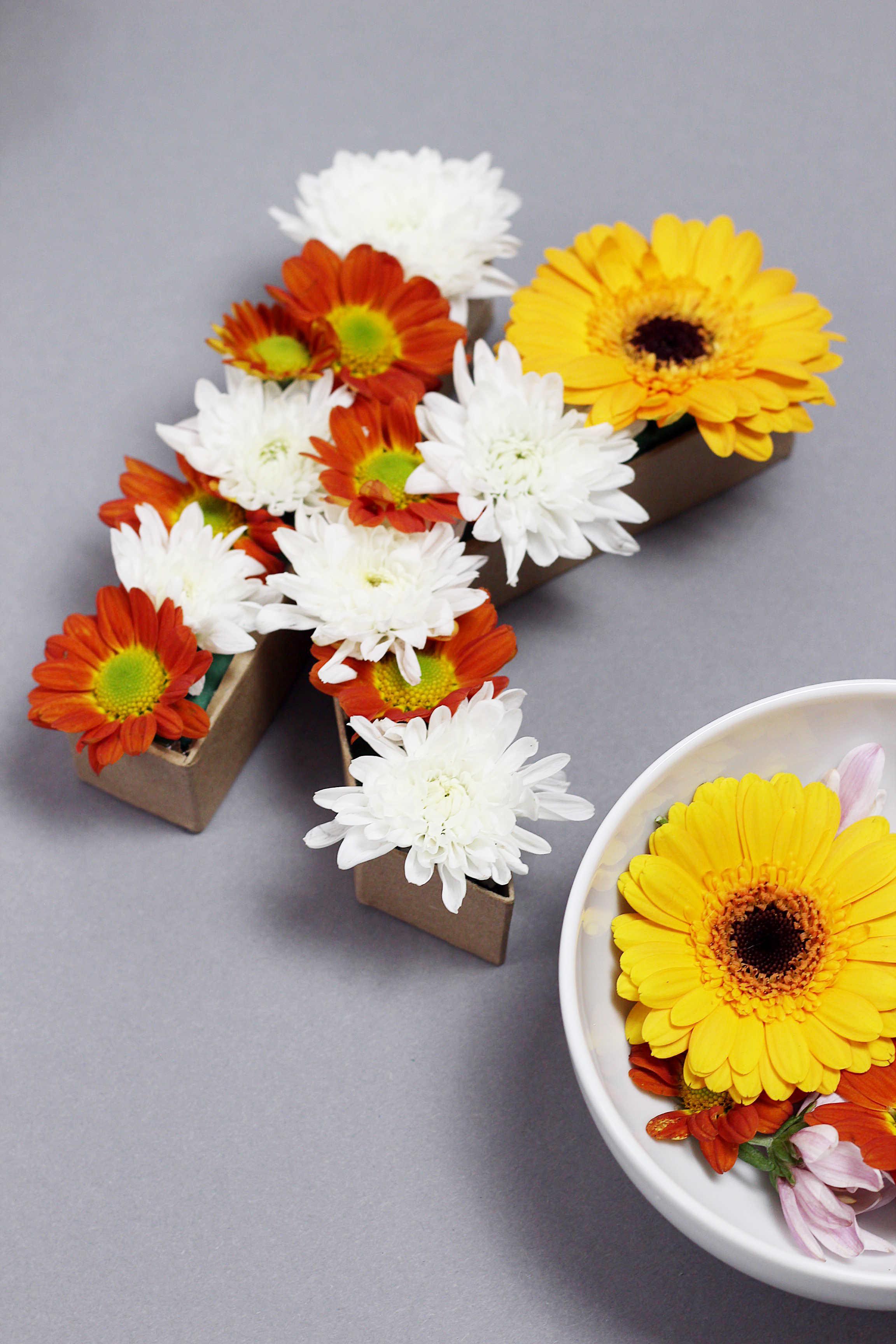 Herbst Deko Blumen Basteln Selbermachen Diy Blog