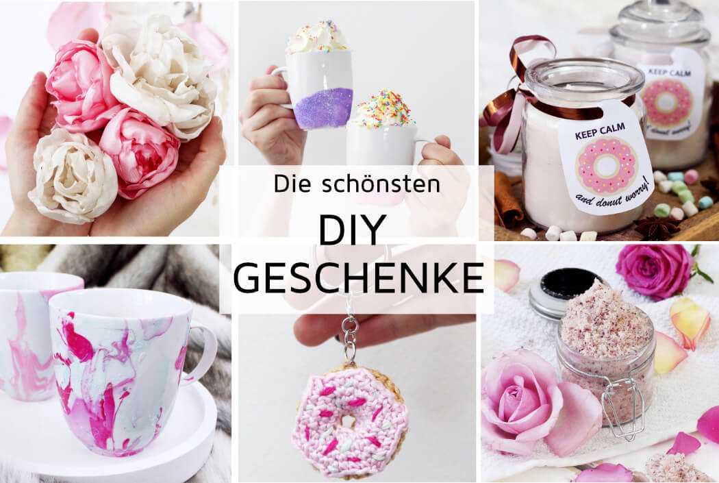 Diy geschenke selber machen kreative geschenkideen basteln - Ostergeschenke zum selber machen anleitung ...