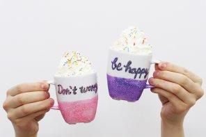 DIY Tassen: Don't worry be happy! + Meine Veränderung