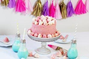 Ombre Torte in pink backen – Super Einfaches Rezept