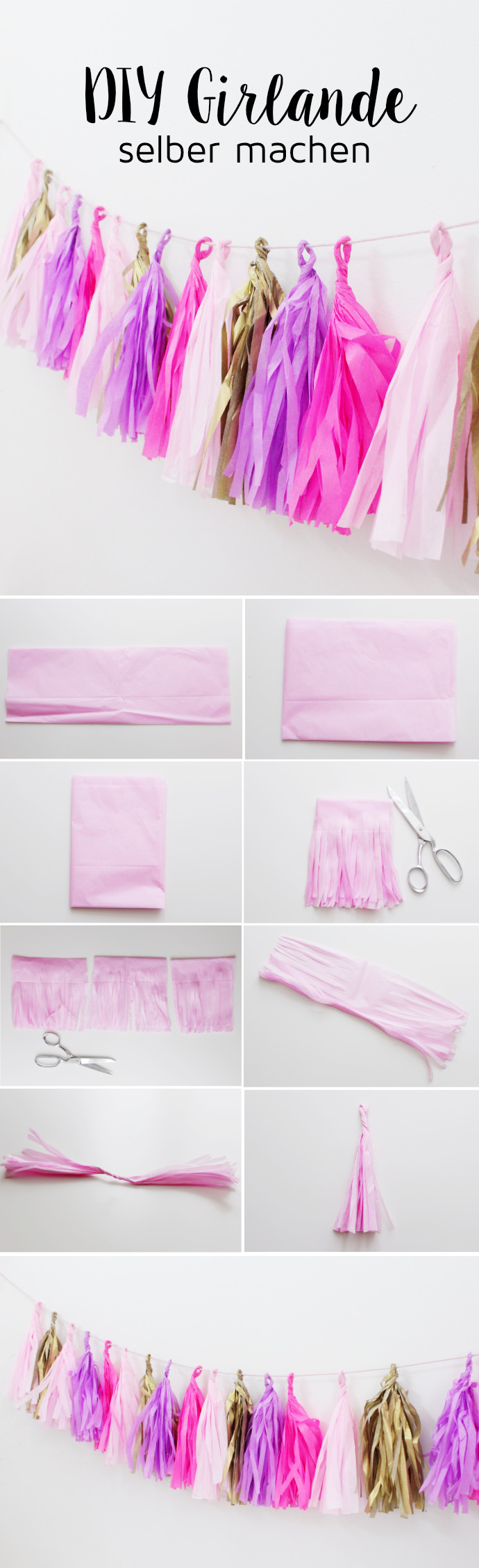 DIY-Girlande-aus-Seidenpapier-Tassels-Quasten-selber-machen-Party-Deko-DIY-Blog