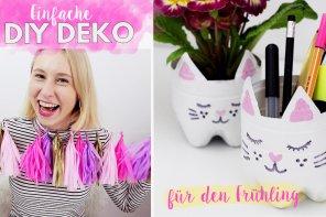 Madmoisell goes YouTube ♥ So macht ihr tolle Frühligsdeko im Pinterest-Stil selber!