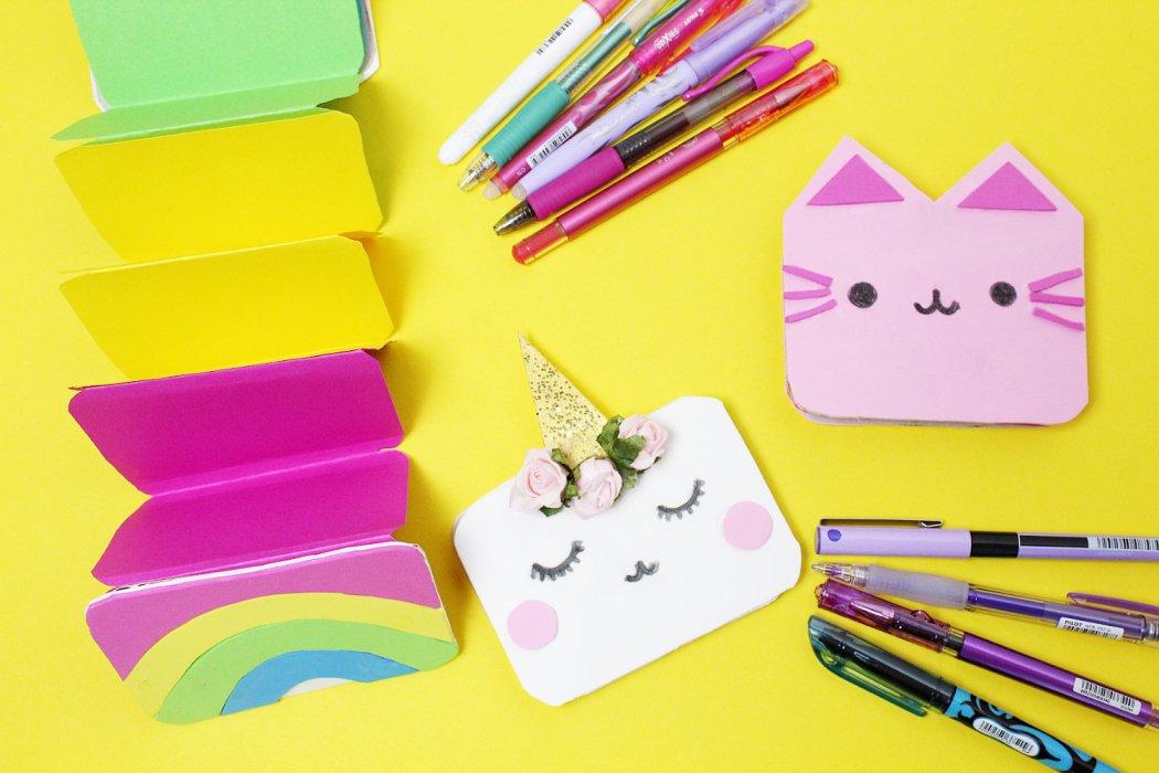 Diy Notizbücher Basteln Süße Einfache Ideen Zum Verschenken