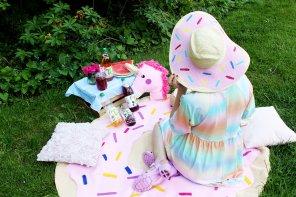 DIY Einhorn Picknick mit Ti: Eis am Stiel, Einhorn Limo & DIY Deko! 😍