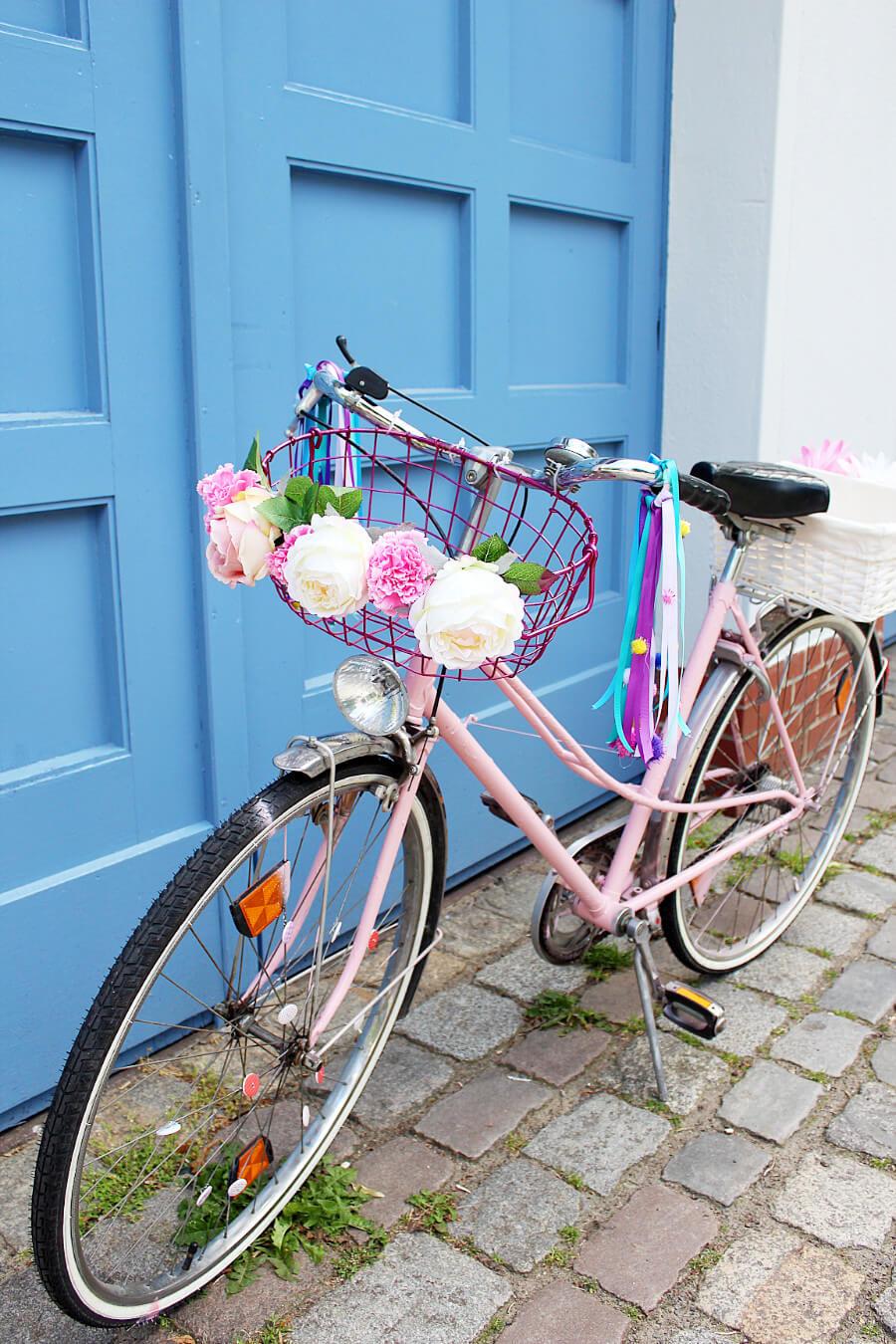 diy fahrrad upcyceln 4 geniale ideen um dein fahrrad aufzupimpen. Black Bedroom Furniture Sets. Home Design Ideas