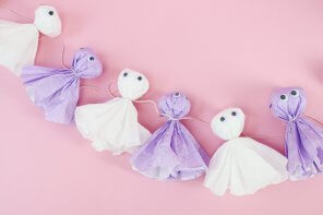 DIY Party Girlande selber machen – Kreative DIY Halloween Deko basteln 👻