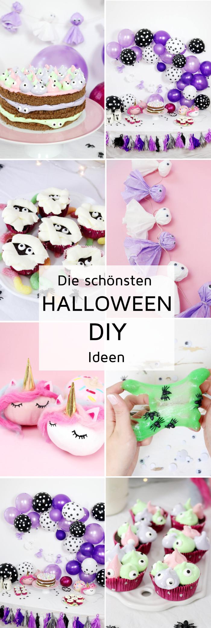 Halloween Deko selber machen: Die besten DIY Halloween Party Ideen!