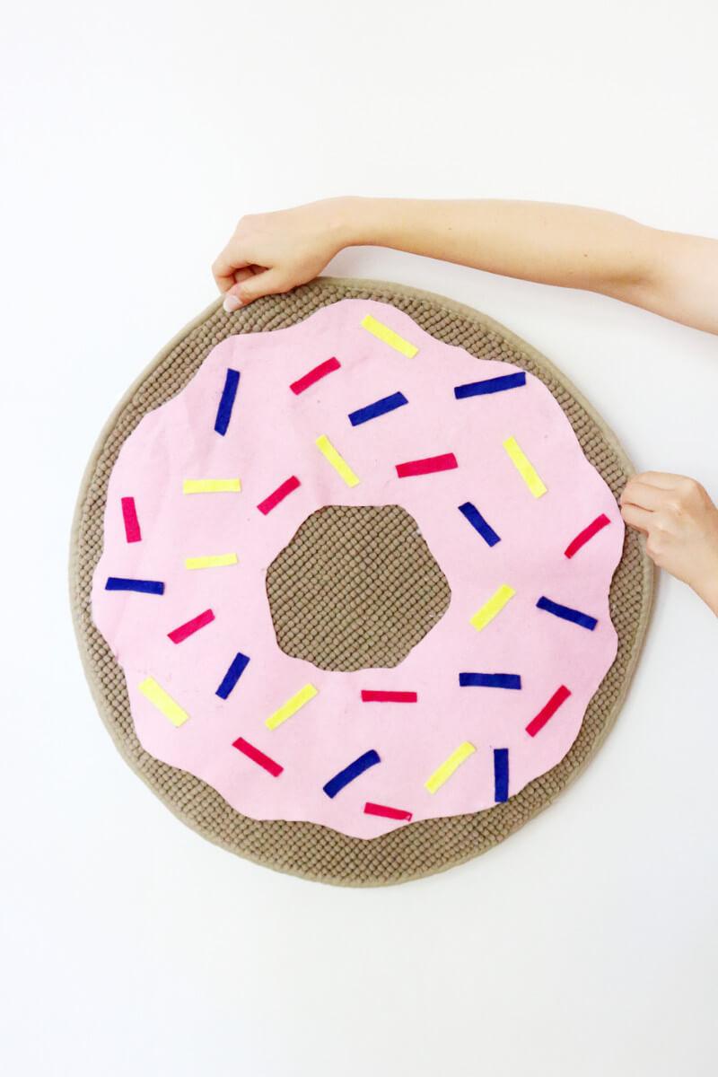 Teppich Selber Machen diy donut teppich selber machen einfacher günstiger ikea hack