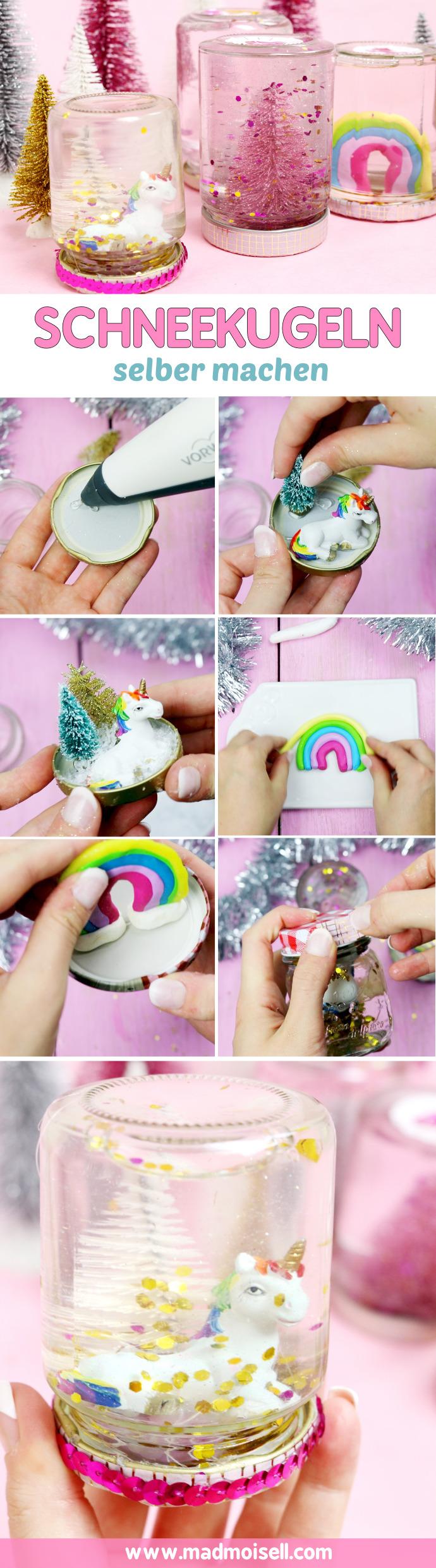 Fabulous DIY Schneekugeln selber machen: Günstiges Geschenk für Weihnachten JI54
