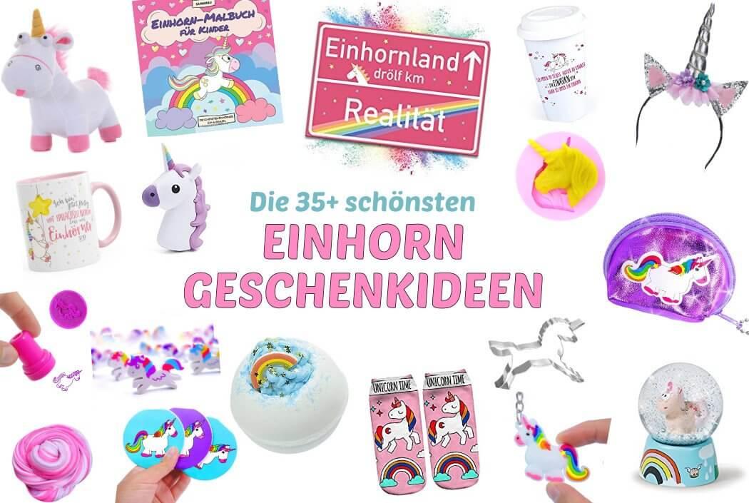 Die 35+ schönsten Einhorn Geschenk Ideen – Alles für Einhorn Fans