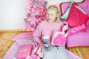 DIY Flamingo Geschenkverpackung basteln – Inspiriert von dem Lidl Flamingo Fan Müsli 💗