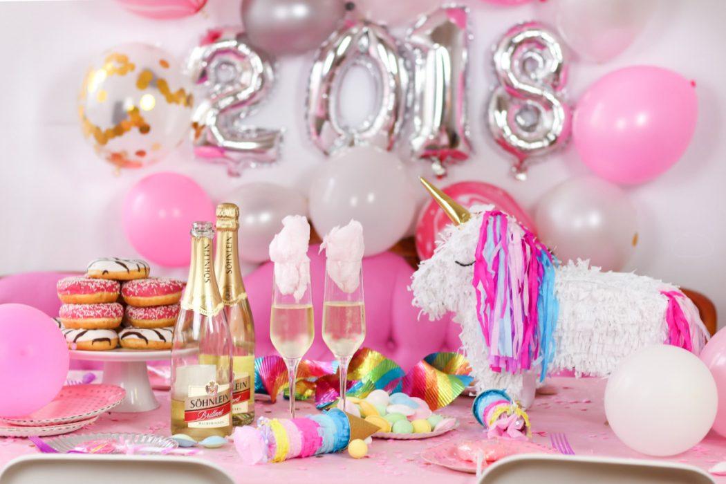 Candy Cotton Drinks Rezept Geniale Silvester Party Deko Diy Ideen