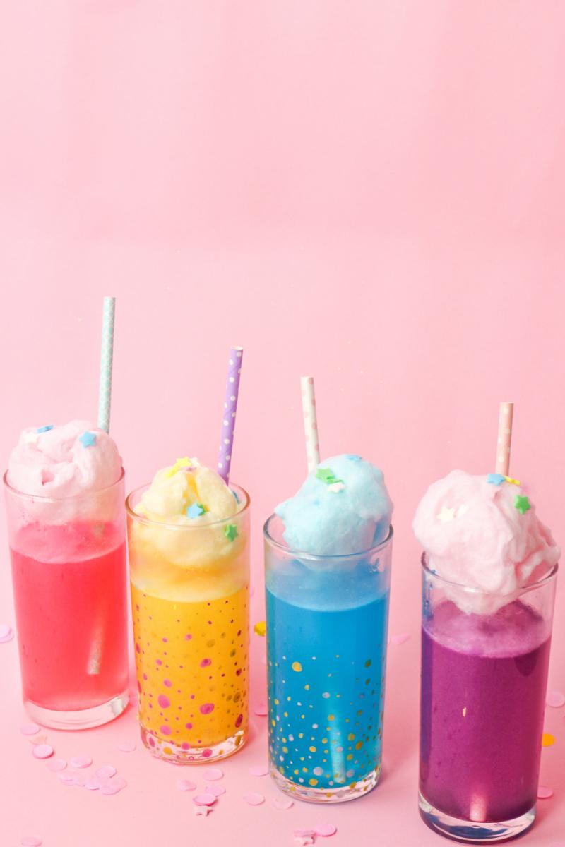 Silvester Basteln cotton drinks rezept geniale silvester deko diy ideen