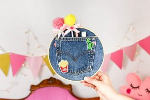 DIY Stiftehalter selber machen aus alter Jeans – Upcycling DIY