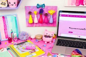 Kreative Upcycling-DIY-Ideen für den Schreibtisch – inspiriert von essence