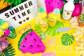 Die schönsten Sommer Party DIY Ideen – inspiriert von den Malibu Summer Games