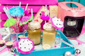Die schönsten Sommer Party DIYs – Cocktailschirmchen basteln & Iced Coffee selber machen – Inspiriert von Tchibo