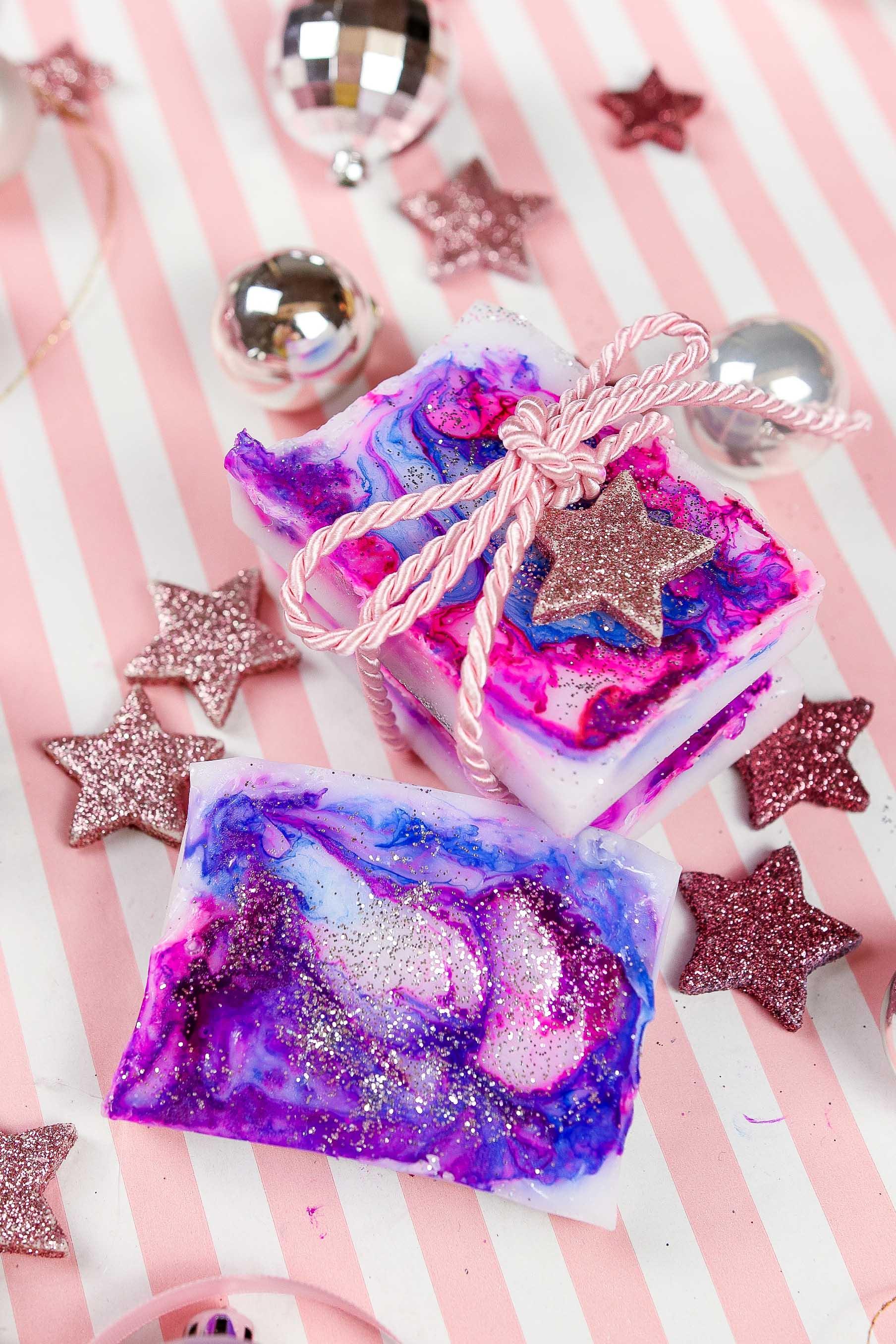 Last Minute Diy Geschenk Für Weihnachten Süße Diy Mermaid Seife